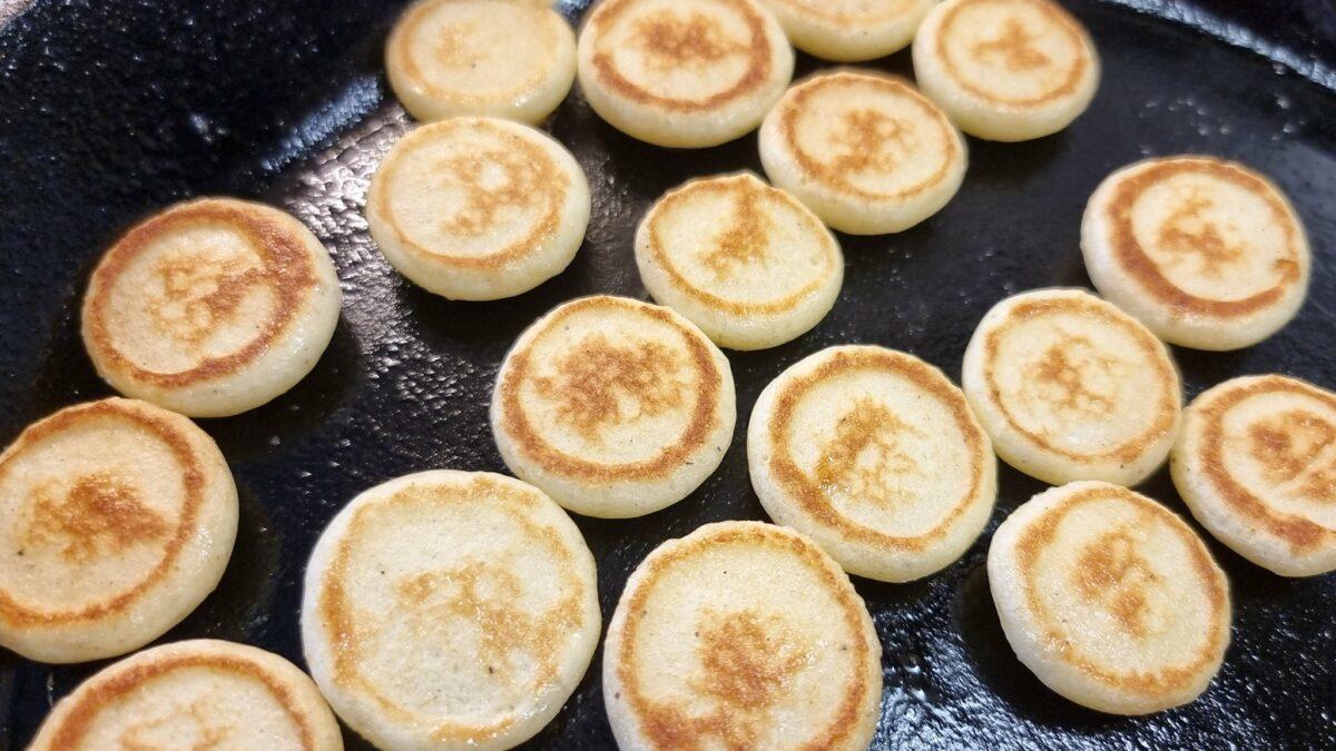 Glutenfria pannkaksflingor Pancake Cereal