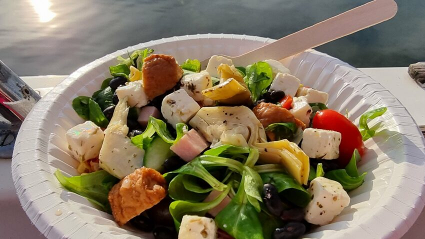 glutenfri middag i båten