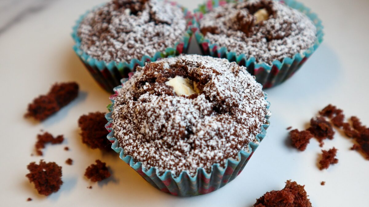 glutenfria krämfyllda muffins