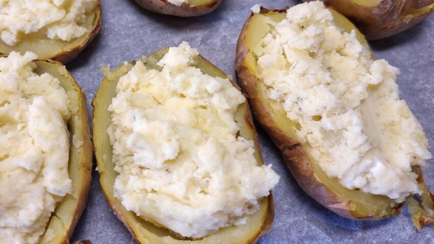 Glutenfria Dubbelbakade potatisar