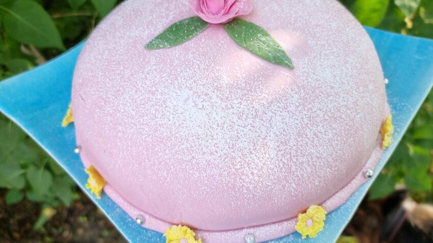 glutenfri drottning prinsesstårta